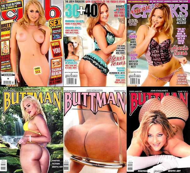 Alexis Texas (9 adult magazines, 2000s)