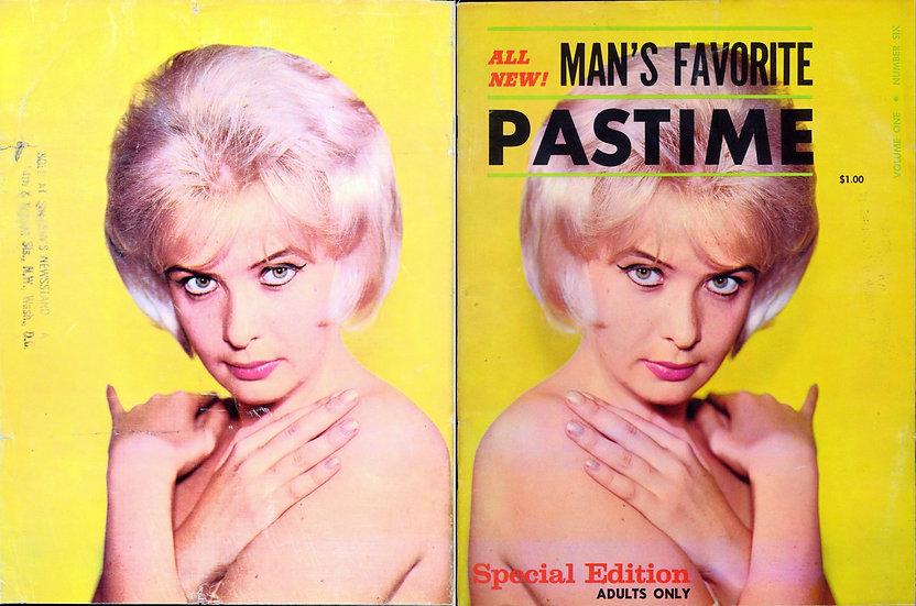 Man's Favorite Pastime (Vintage adult magazine, 1961)