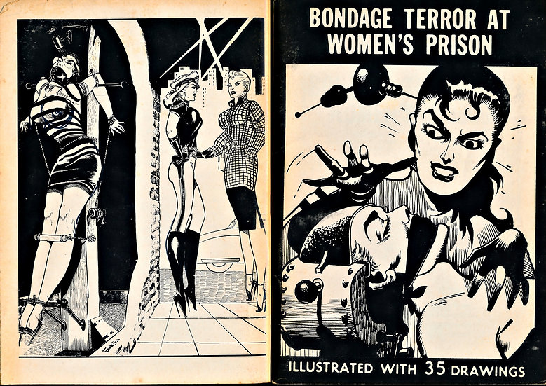 Bondage Terror at Women's Prison, Vol. 1 (First Edition, 1961)