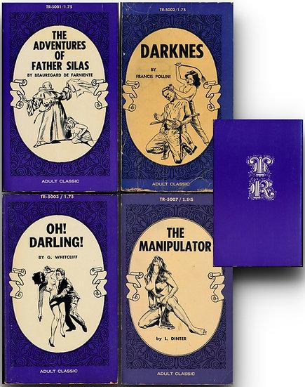 T-R Press (4 Vintage Paperbacks, 1969)
