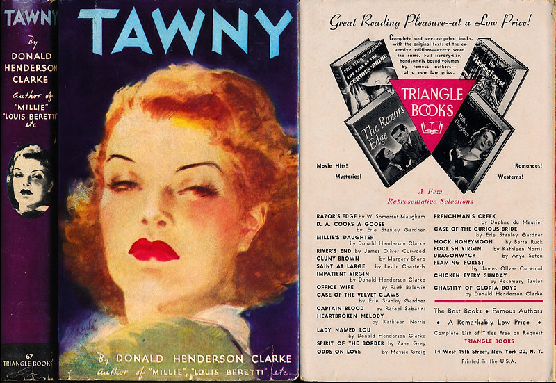 Tawny (Hardcover Edition, 1946)