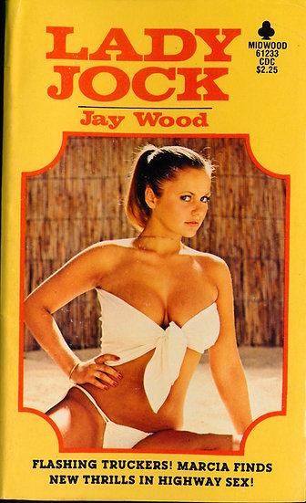 Lady Jock (Vintage adult paperback, Joanne Latham front cover, 1979)