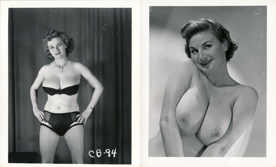 Cherrie Knight (2 original photographs, 1950s)
