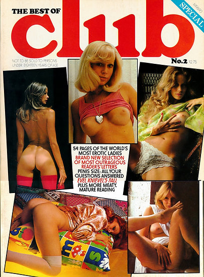 The Best of Club, No. 2 (Vintage adult magazine, 1976)