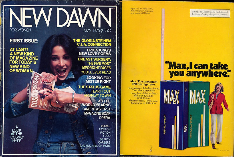 New Dawn (vintage adult magazine, May 1976)