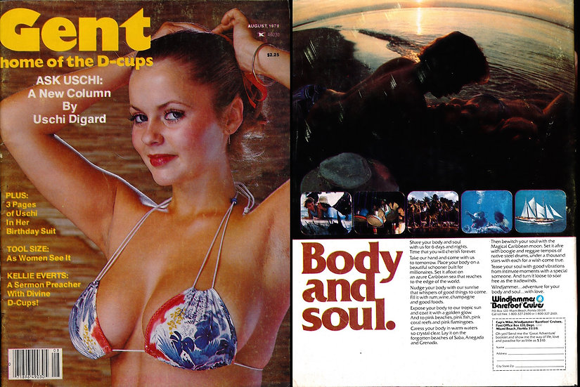 Gent [Home of the D-Cups] (Vintage adult magazine, Joanne Latham cover, 1979)