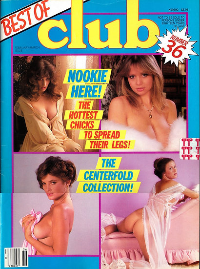 Best of Club, No. 36 (Vintage adult magazine, Marilyn Chambers feature, 1980s)