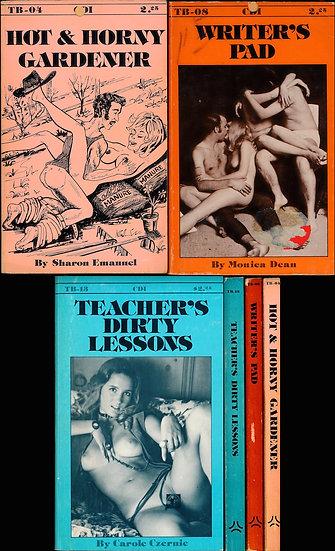 Trinity Books (3 vintage adult paperbacks, 1976)