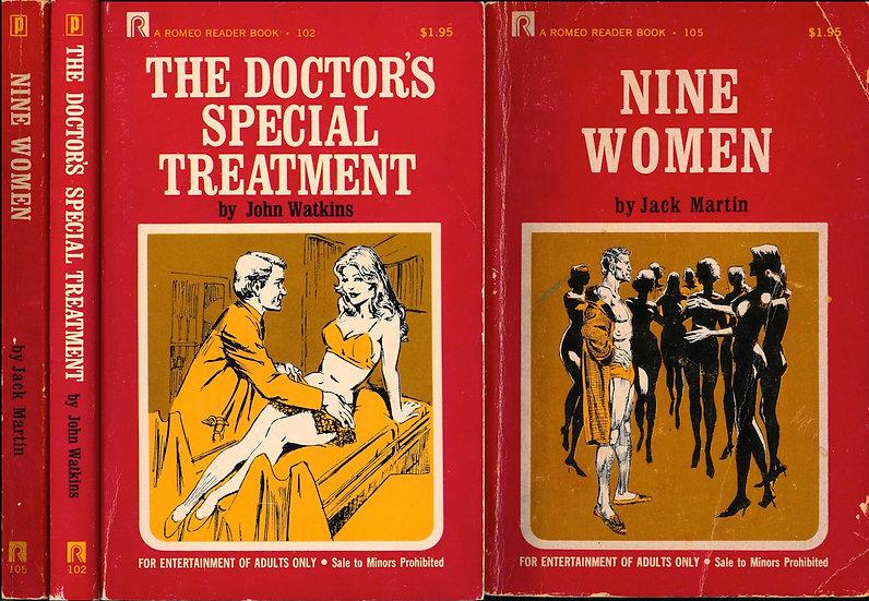 Romeo Reader (2 vintage adult paperbacks, 1972)