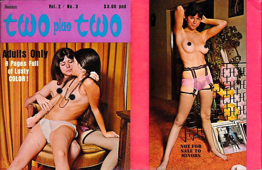 Two Plus Two (Vintage adult magazine, lesbian theme, 1971)