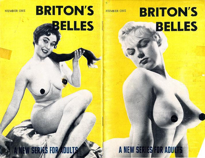 Briton's Belles (vintage pinup digest magazine, Lorraine Burnette, 1950s)