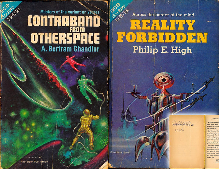 Reality Forbidden / Contraband from Otherspace (First Edition, 1967)
