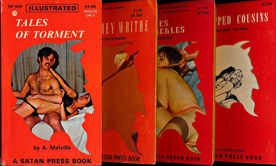 Satan Press (4 Vintage Paperbacks)