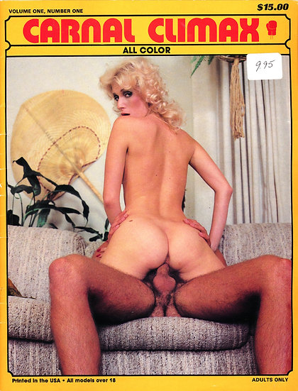 Carnal Climax (Vintage adult magazine, 1980s)