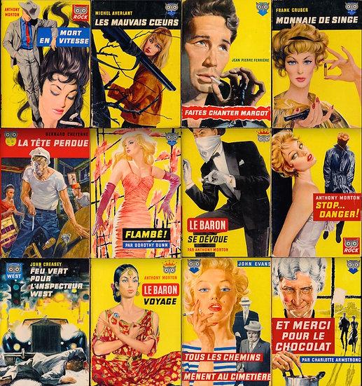 Ditis (32 vintage French paperbacks)