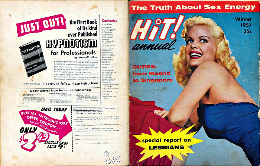 Hit! Annual (Vintage pinup magazine, Cleo Moore, 1957)