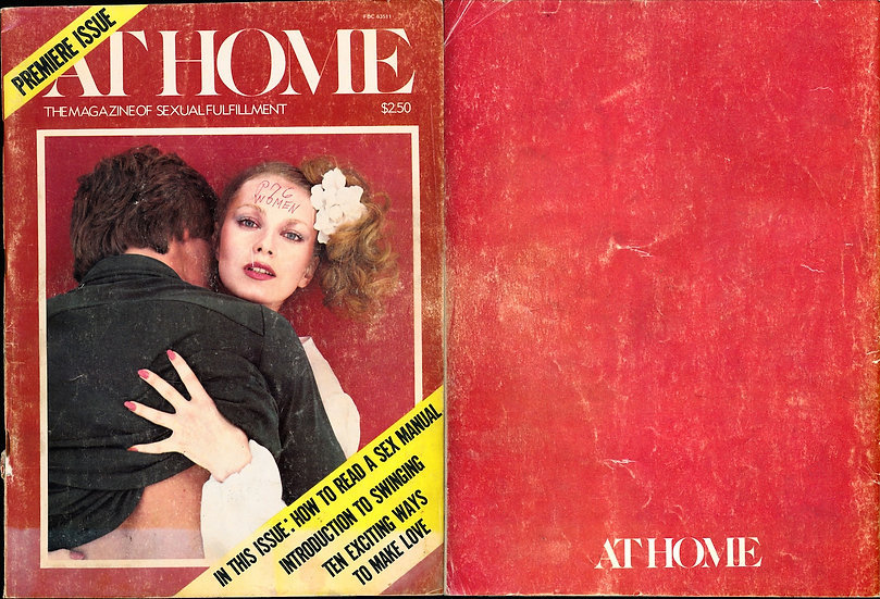 At Home [The Magazine of Sexual Fulfillment] (Vintage adult magazine, 1977)