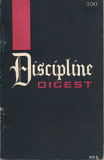 Discipline Digest, Number 6 (First Edition)