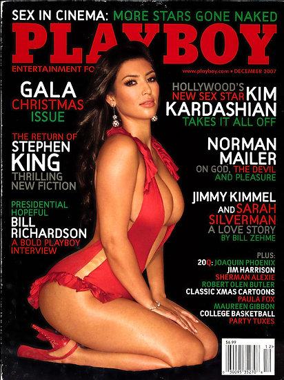 Playboy (Vintage adult magazine, Kim Kardashian feature, 2007)