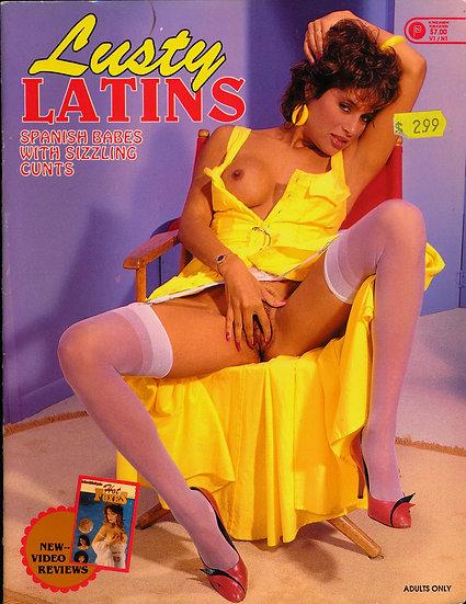 Lusty Latins (Vintage adult magazine, 1990)