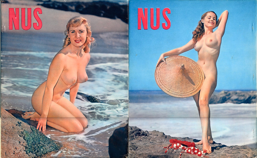 Nus (First Edition, softcover in jacket, Suzanne Snow cover model, 1950s)
