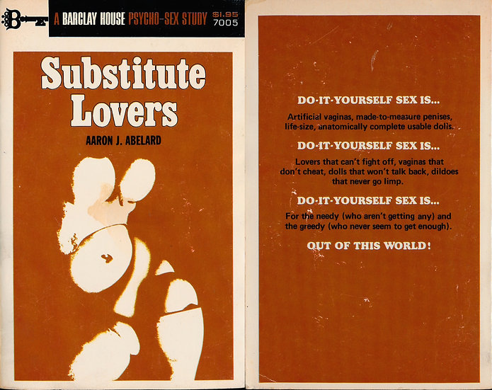 Substitute Lovers (Vintage adult paperback, Hans Bellmer cover)
