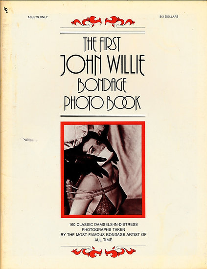 The First John Willie Bondage Photo Book (Vintage magazine)