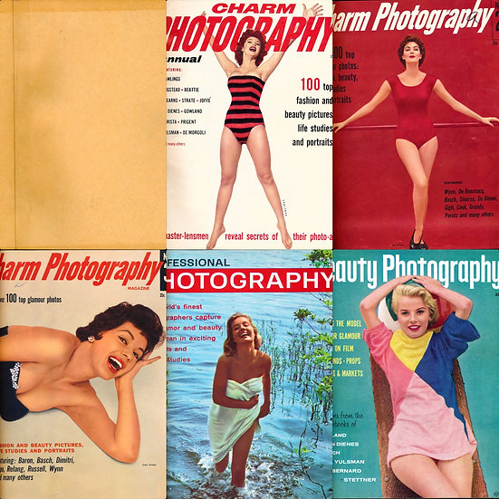 Figure studies (5 vintage photography magazines bound together)