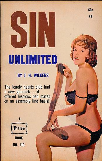 Sin Unlimited (Vintage adult paperback, Julie Williams cover, 1962)