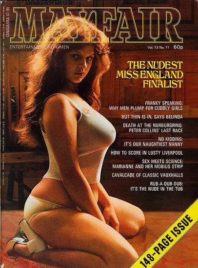 Mayfair (Vintage British adult magazine, 1978)
