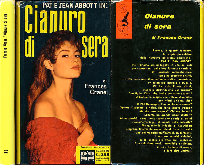 Cianuro di sera [The Shocking Pink Hat] (Vintage Italian hardcover edition)