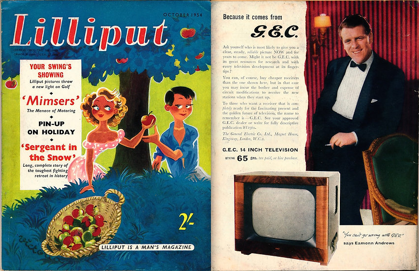 Lilliput (Vintage British digest magazine, 1954)