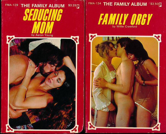 The Family Album (2 vintage adult paperbacks, 1981)