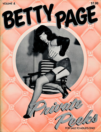 Betty Page Private Peeks, Vol. 4 (First Edition)