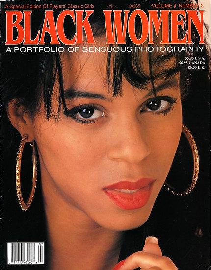 Black Women, a Portfolio of Sensuous Photography (Vintage adult magazine, 1991)