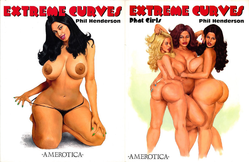 Extreme Curves / Extreme Curves: Phat Girls (2 softcover editions)