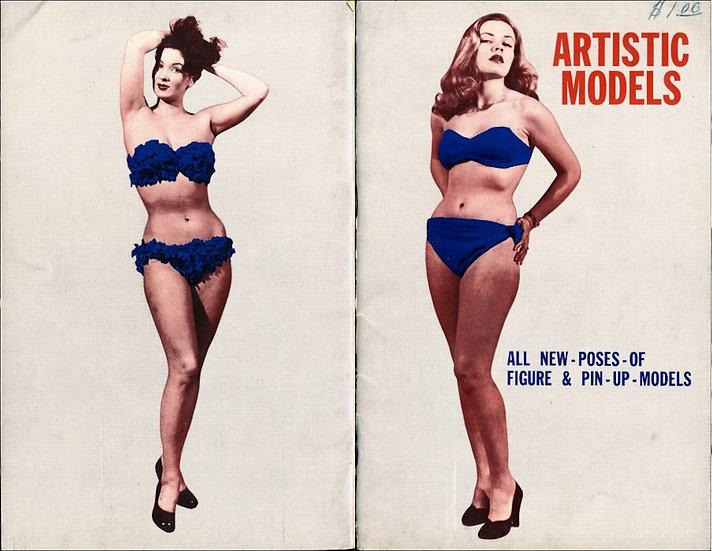 Artistic Models (vintage pinup digest magazine, 1950s)