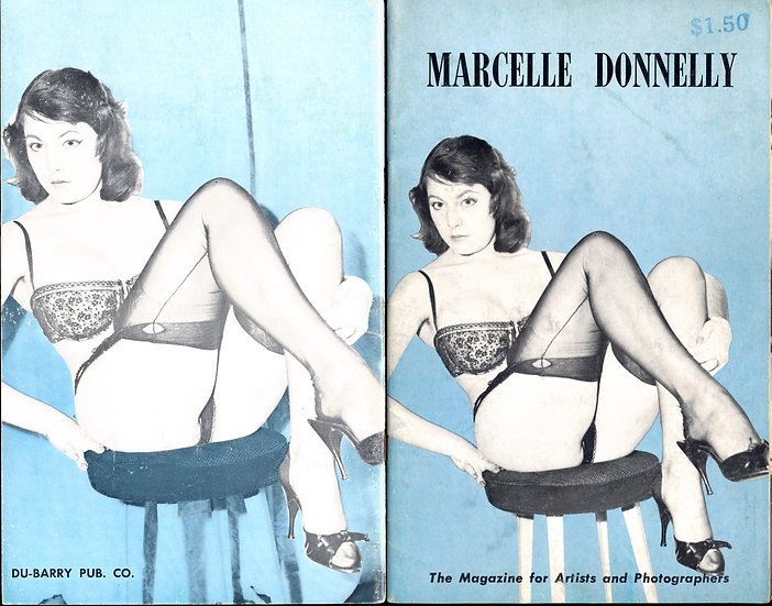 Marcelle Donnelly (vintage pinup digest magazine, 1950s)