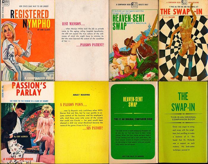 Greenleaf: Companion Book (4 vintage adult paperbacks, 1967-68, 1970)