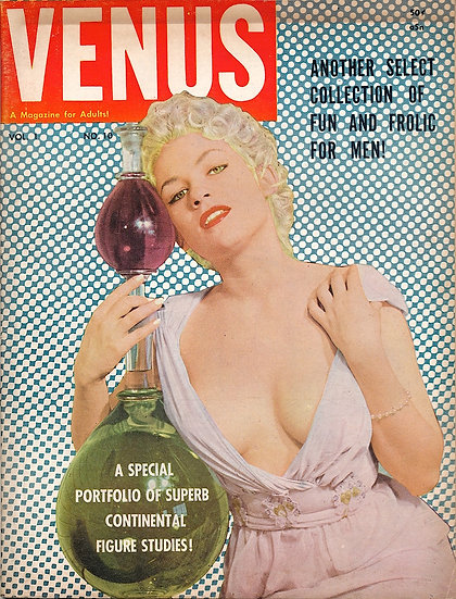 Venus (Vintage Magazine, Chris Starr cover model)