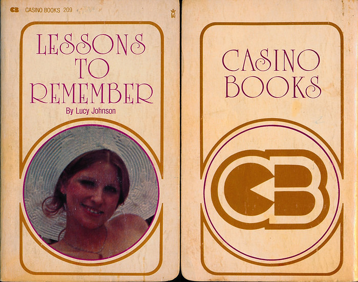 Lessons to Remember (First Edition, Roberta Pedon cover model)