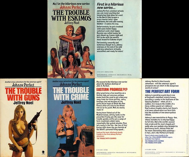 The Trouble With... (3 vintage British adult paperbacks)