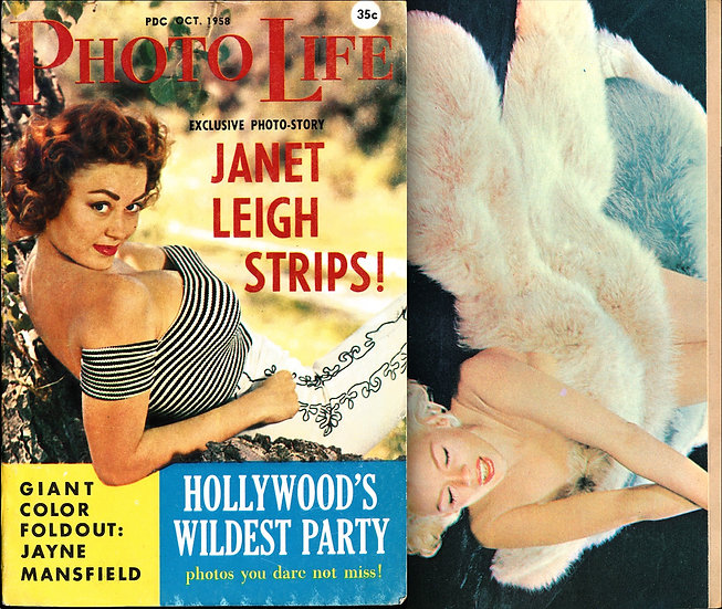 Photo Life (Vintage digest pinup magazine, first issue, Oct 1958)