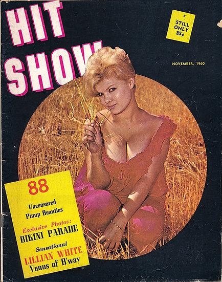 Hit Show (Vintage Magazine, Terry Higgins cover model, Nov 1960)