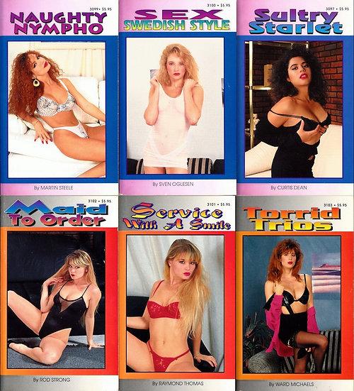 The Best Erotica for Modern Readers (6 vintage adult paperbacks)