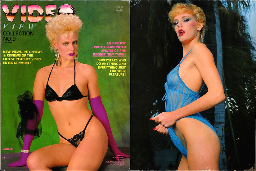 Video View (Vintage adult film magazine, 1989)