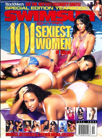 Black Men Swimsuit Extra 101 Sexiest Women of Color (Adult magazine, 2005)