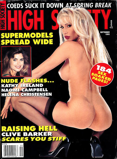 High Society (Vintage adult magazine, 1993)