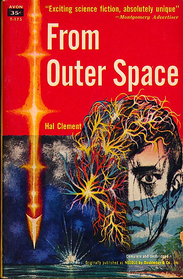 From Outer Space (First Edition, Offutt's copy, 1950s)