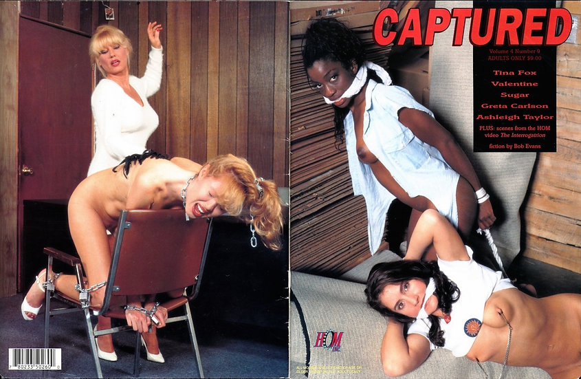 Captured (Vintage adult magazine, 1996)